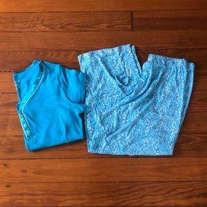 Liz Claiborne Pajama Set